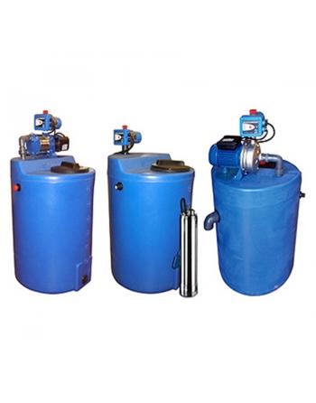 Depósito con bomba de agua HT