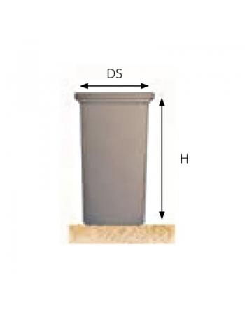 Depósito de agua Cilíndrico